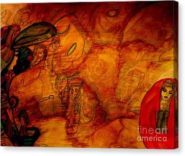 Dream State Canvas Print by Stephanie Zelaya