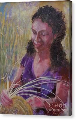 Dream Weaver Canvas Print by Gertrude Palmer