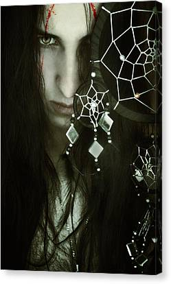 Dreamcatcher Canvas Print by Cambion Art