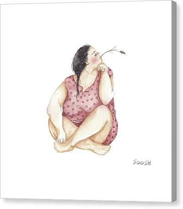 Dreamer Canvas Print by Soosh
