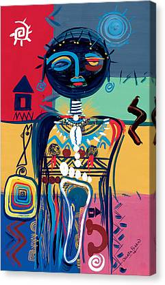 Dreaming Of Africa Canvas Print by Oglafa Ebitari Perrin