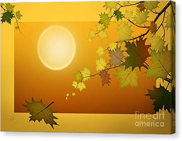 Dreaming Of Autumn Canvas Print by Bedros Awak