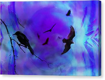 Dreaming Of Flying Canvas Print by Bill Cannon