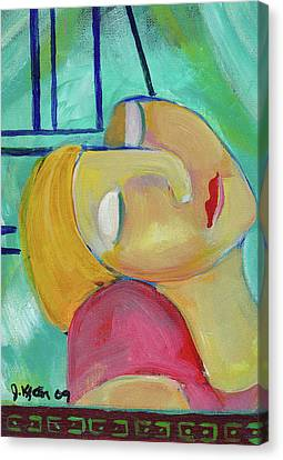 Dreaming Of Picasso Canvas Print by John Keaton
