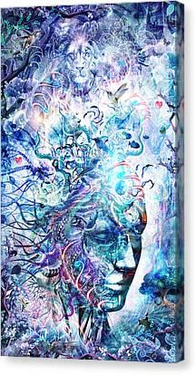 Dreams Of Unity Canvas Print by Cameron Gray