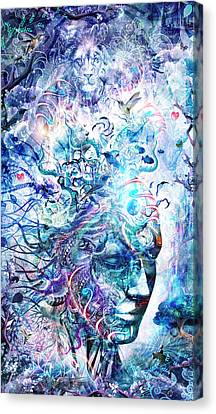 Dreams Of Unity Canvas Print by Cameron Gray