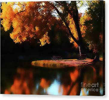 Dreamy Afternoon Canvas Print by Terril Heilman