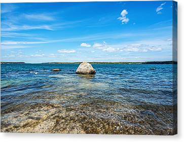 Drifting Out To Sea Canvas Print by Tim Sullivan