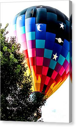Drifting Over The Tree Canvas Print by Victory  Designs