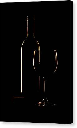 Drink Poured Canvas Print by Andrew Soundarajan