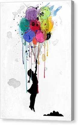 Drips Canvas Print by Mark Ashkenazi