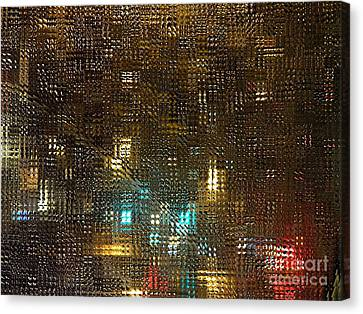 Driving Rain Canvas Print by Sarah Loft