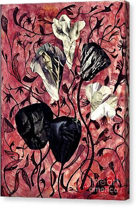 Dry Garden Canvas Print by Sarah Loft