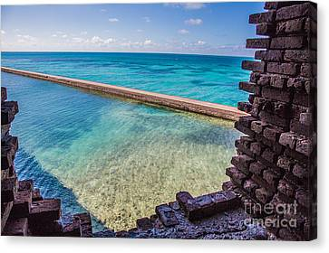 Dry Tortugas 1 Canvas Print by Richard Smukler