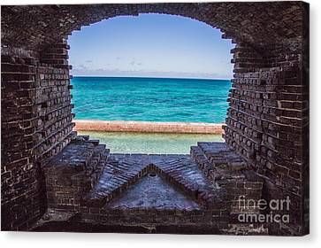 Dry Tortugas 3 Canvas Print by Richard Smukler