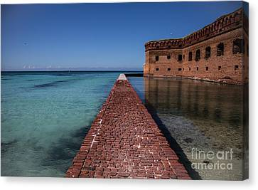 Dry Tortugas 4 Canvas Print by Richard Smukler