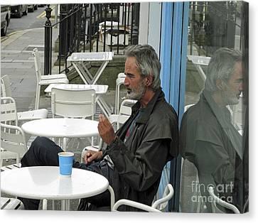 Dublin Reflection Canvas Print by Hugh Reynolds
