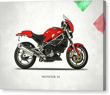 Ducati Monster S4 Sps Canvas Print by Mark Rogan