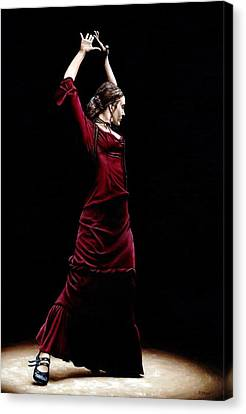Duende Canvas Print by Richard Young