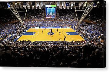 Duke Blue Devils Cameron Indoor Stadium Canvas Print by Replay Photos