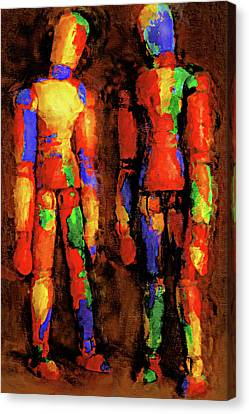 Duo Canvas Print by Jeff  Gettis