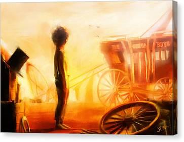 Dust Bowl Canvas Print by Jamie Fox