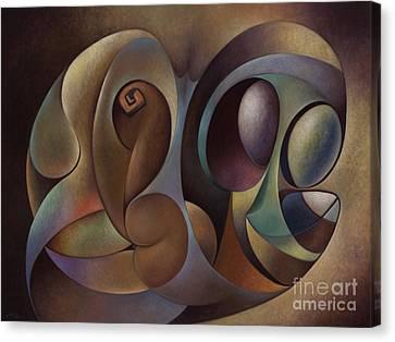 Dynamic Series #1 Canvas Print by Ricardo Chavez-Mendez