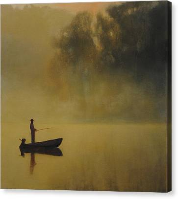 Early Morning Fish Sold Canvas Print by Cap Pannell