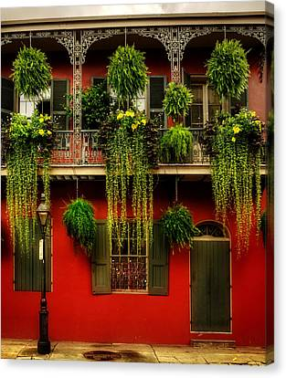 Early Morning In New Orleans Canvas Print by Chrystal Mimbs