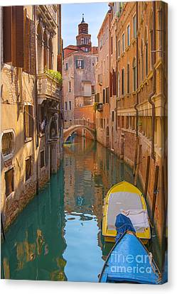Early Morning Stroll Canvas Print by Marco Crupi