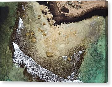 Earth And Sea Canvas Print by Emilio Lopez