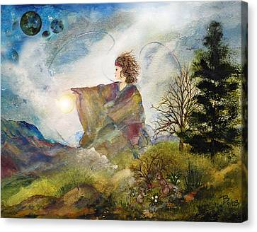 Earth Angel Canvas Print by Patricia Motley