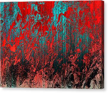 Earth Crime Pandemic Canvas Print by Andy Readman