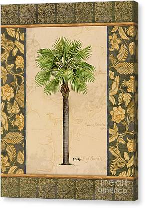 East Indies Palm I Canvas Print by Paul Brent