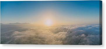 Easter Sunrise 2 Canvas Print by Lonnie Christopher