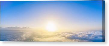Easter Sunrise 3 Canvas Print by Lonnie Christopher