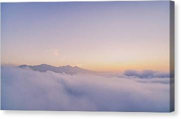 Easter Sunrise  Canvas Print by Lonnie Christopher