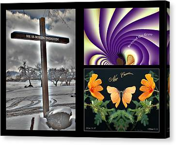 Eastereality Canvas Print by Greg Taylor