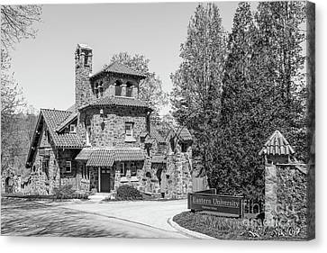 Eastern University Andrews Hall Canvas Print by University Icons