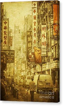 Eastern West Canvas Print by Andrew Paranavitana