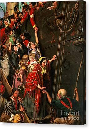 Eastward Ho Canvas Print by Henry Nelson ONeil