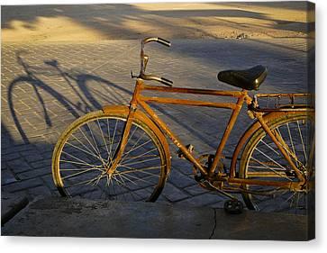Easy Rider Canvas Print by Skip Hunt