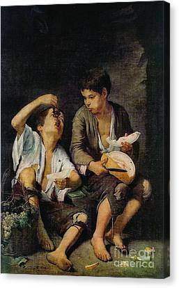 Eating Fruit 1650 Canvas Print by Padre Art