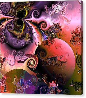 Ebullient Color Canvas Print by Claude McCoy