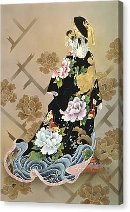 Echigo Dojouji Canvas Print by Haruyo Morita