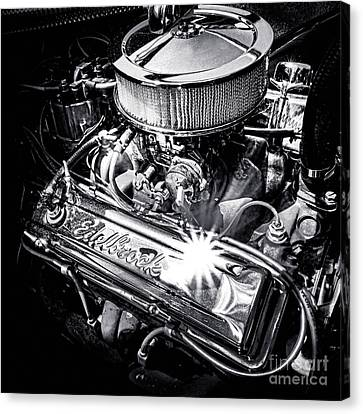 Edelbrock Rules Canvas Print by Olivier Le Queinec