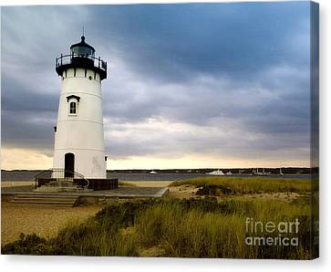 Edgartown Lighthouse Cape Cod Canvas Print by Matt Suess