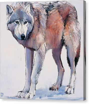 Edge Canvas Print by Mark Adlington