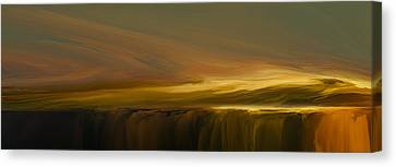 Edge Of Reality Canvas Print by Lonnie Christopher