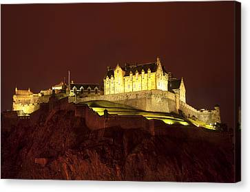 Edinburgh Castle Canvas Print by Svetlana Sewell